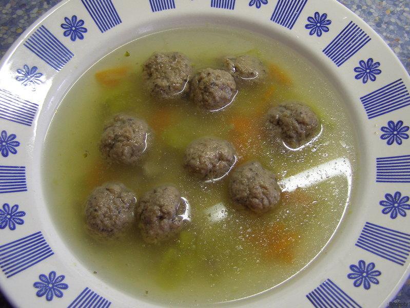 Čtvrthodinková knedlíčková polévka