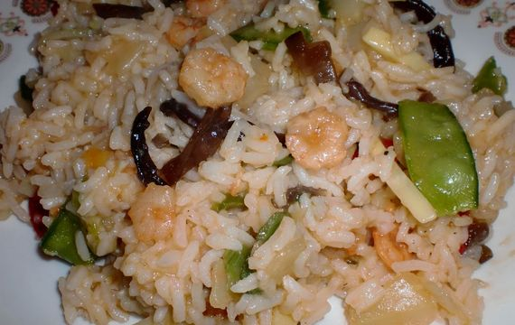 Krevetová rýže