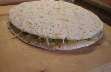 Quesadillas s brokolicí