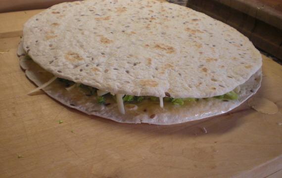 Quesadillas s brokolicí