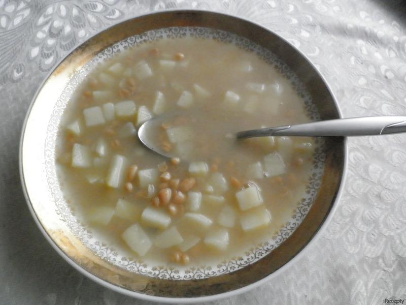 Fazolová polévka  III., rychlá verze