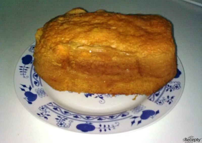 Pudinková buchta z pekárny