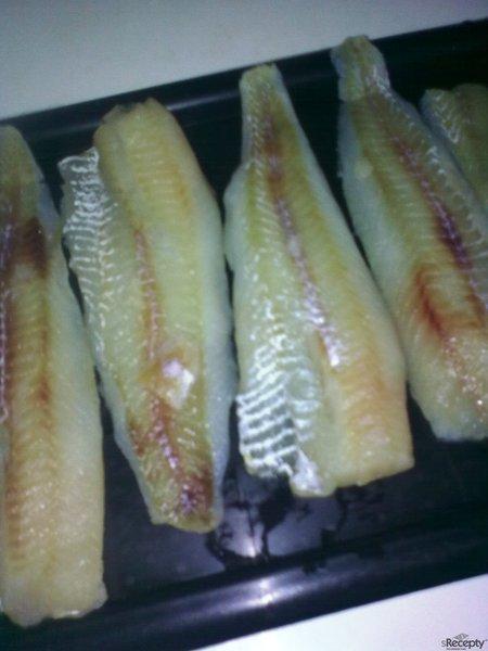 Rybí filé s pikantní omáčkou od Roxany