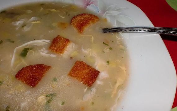 Pórková polévka podle maminky
