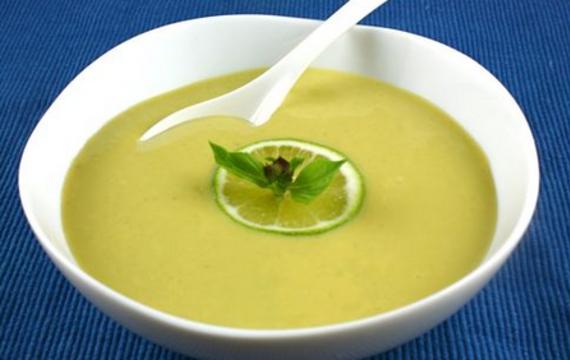 Citrónovo-limetková polévka