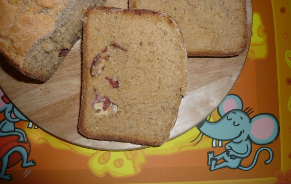 Domácí pečený chléb s překvapením