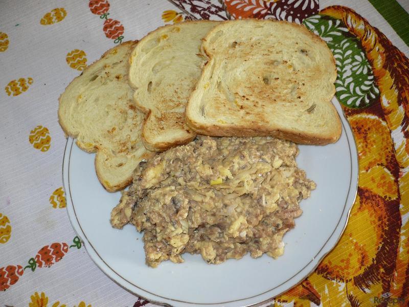 Toasty s vejci a rybičkami