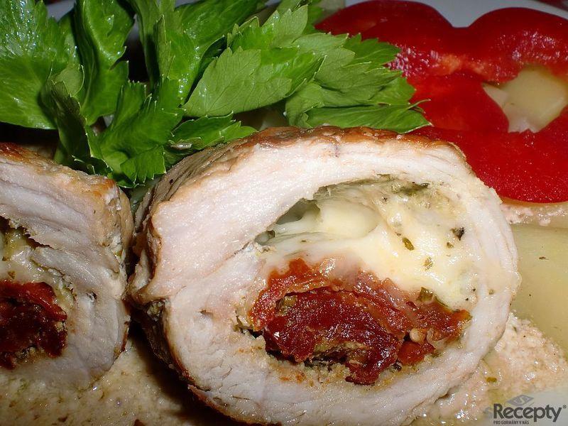 Vepřové závitky s chutí Itálie