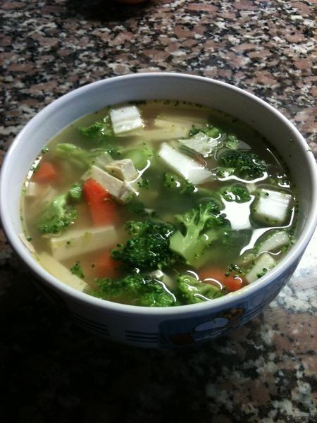 Rychlá zdravá polévka