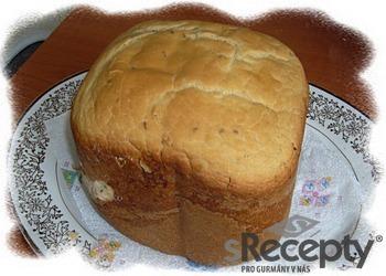 Domácí kmínový chléb do pekárny
