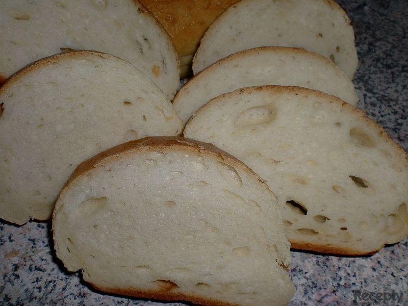 Chlebíčková veka z domácí pekárny
