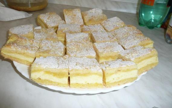 Tvarohový koláč kamarádky Katky