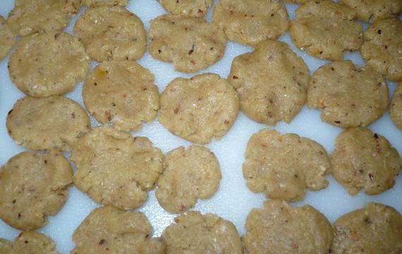 Sušenkové likérové placičky