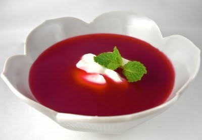 Rybízová polévka