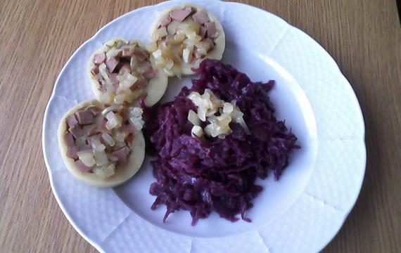 Roláda z bramborového těsta