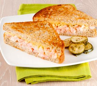 Plněné krevetové sendviče