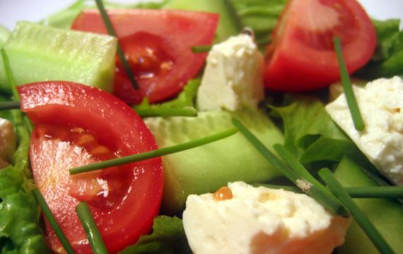 Co jíst v letních dnech?