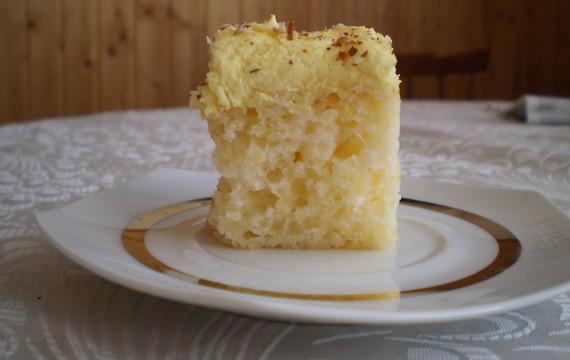 Ananasovo - ořechový koláč