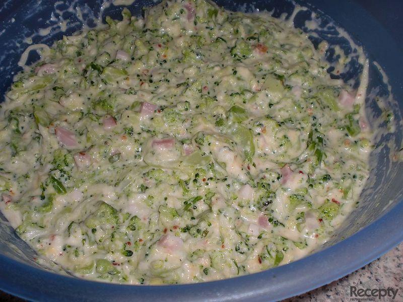 Nákyp z brokolice
