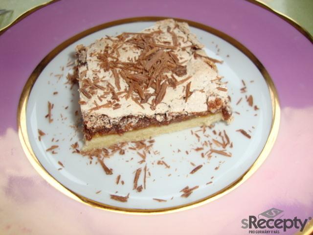 Čokoládovo - ořechové řezy