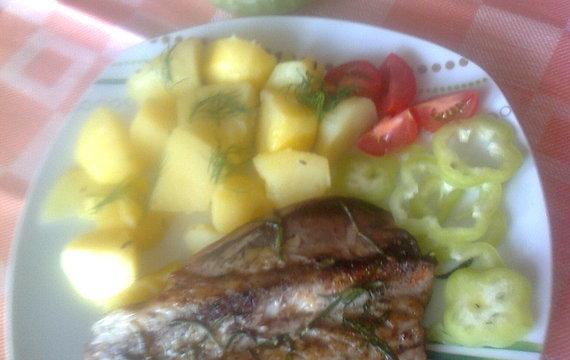 Makrela na tymiánu a rozmarýnu