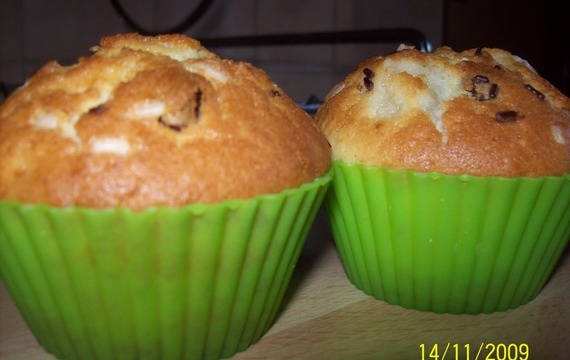 Jahodové muffinky