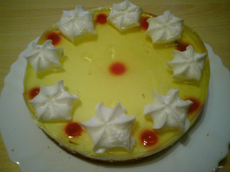 Ovocný letní dortík