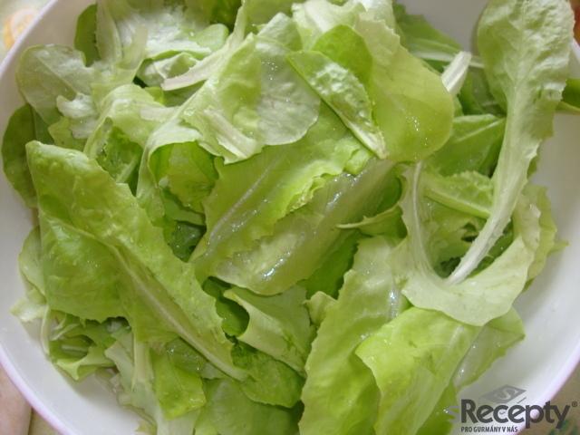 Rychlá salátová polévka