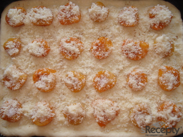 Meruňkový kynutý koláč