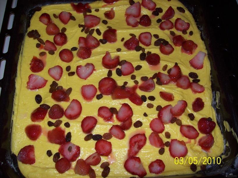 Puntíkatý koláč