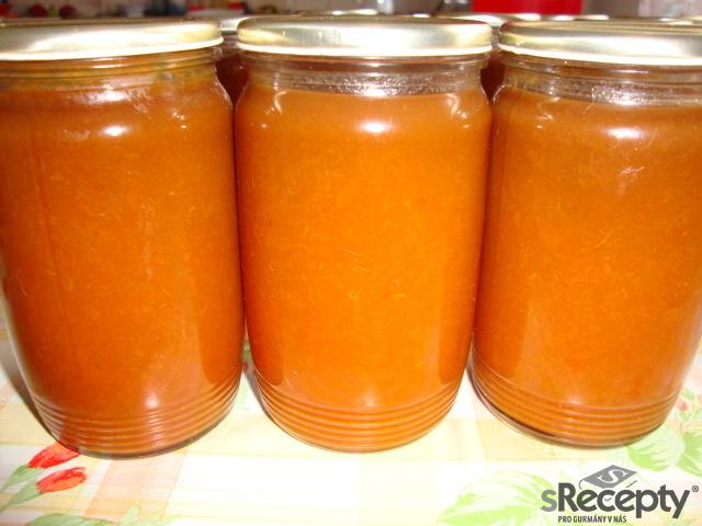Meruňkový džem podle mé babičky