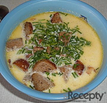 Rybí polévka z cejna
