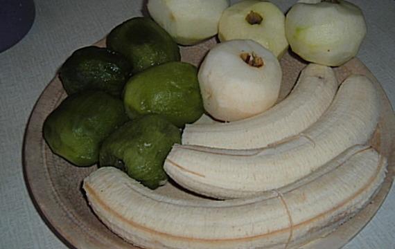 Banánovo - ovocný crumbl