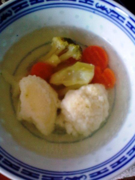 Polévka s noky (slepičí)