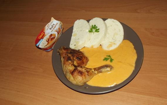 Kuře na paprice - Grunt omáčka