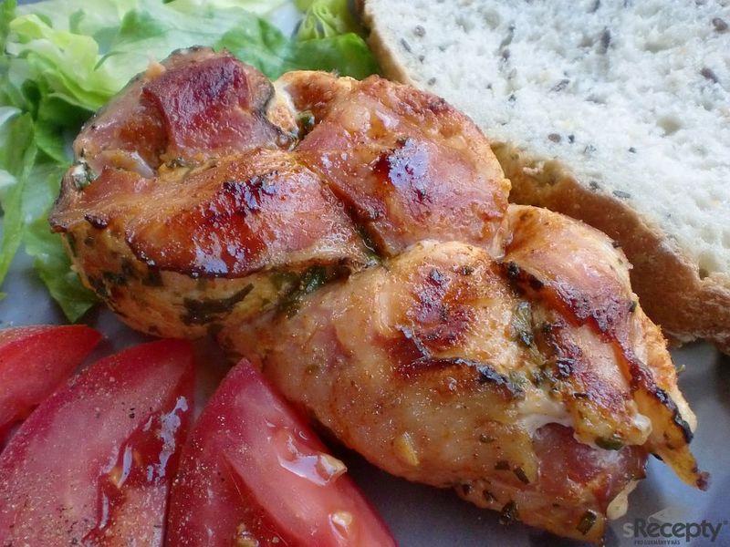 Kuřecí copánky na grilu