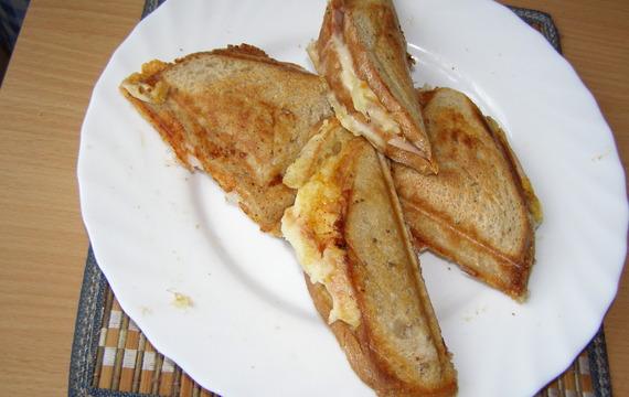 Tousty z  obyčejného chleba