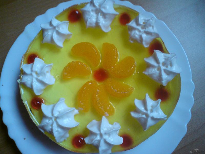 Rychlý ovocný dort