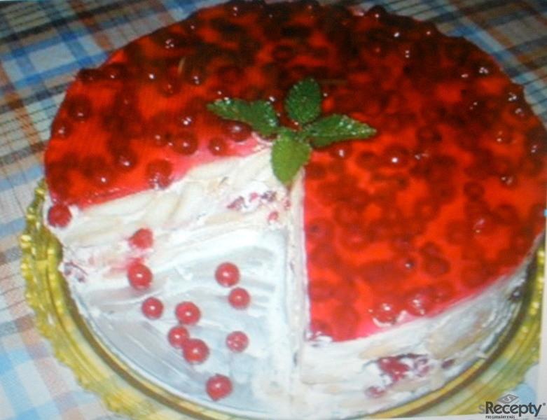 Tvarohový dort nepečený