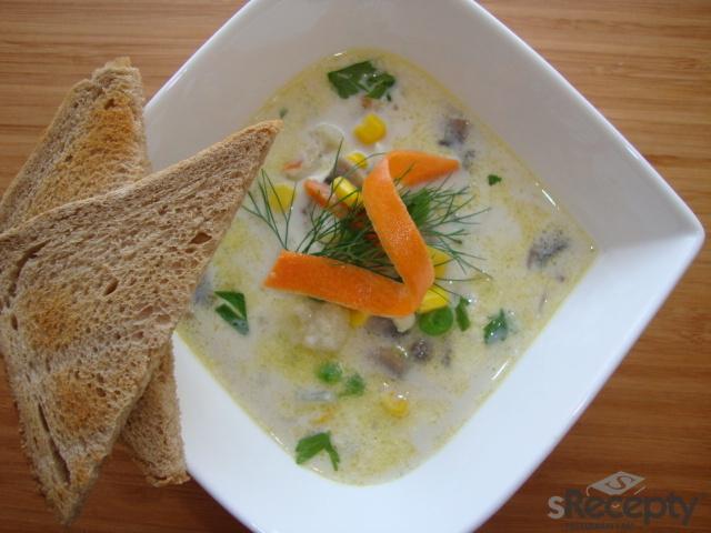 Fantastická zeleninová polévka