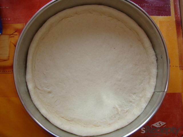 Borůvkovo - rybízový koláč s tvarohem