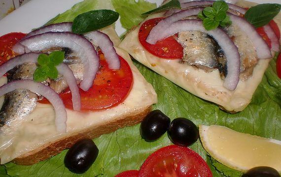 Chlebík opékaný na italský způsob