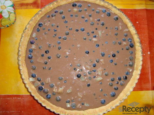 Borůvkovo - ananasový linecký koláč