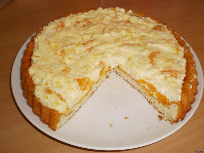 Nepečený třepací dort