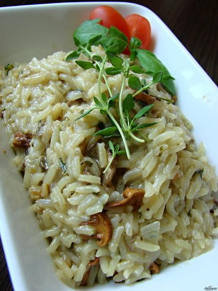 Houbová rýže