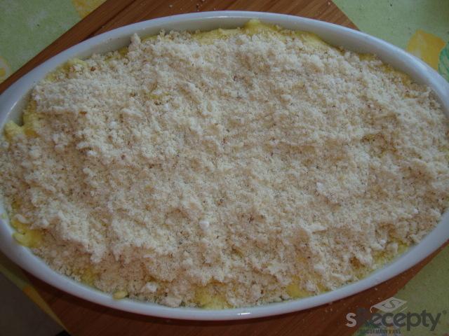 Zapečené těstoviny se sladkou krustičkou