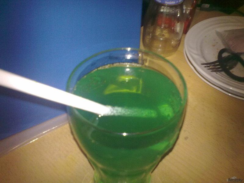 Zelená záře