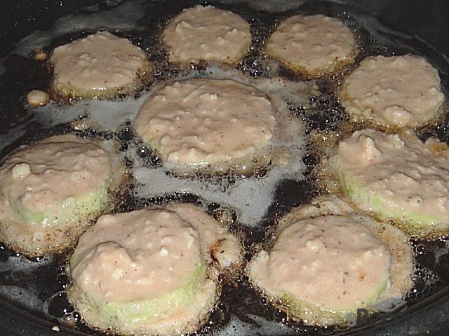 Cuketa v hermelínovém těstíčku