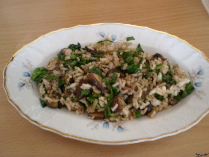 Houboto aneb houbové rizoto po italsku