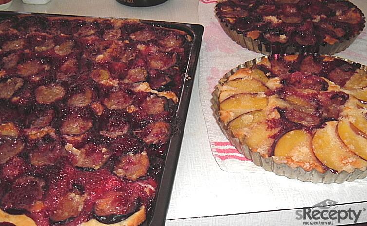 Podzimní švestkový koláč
